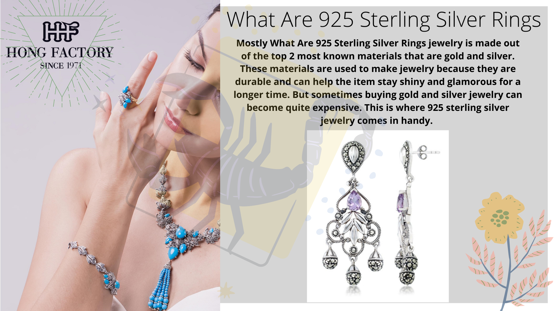 Important Facts to Know on 925 Real Silver Jewelry