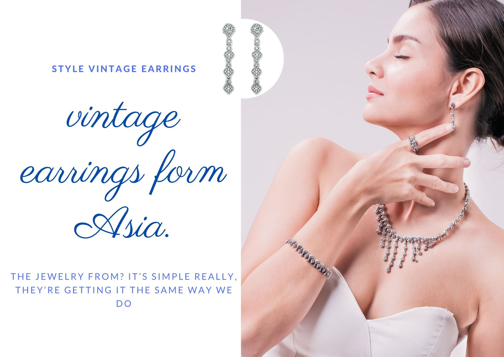 How to style vintage earrings